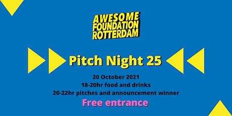 Awesome Foundation Rotterdam - Pitch Night 25 tickets