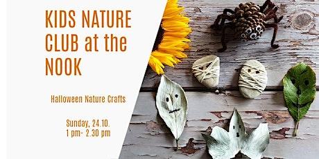 Children Nature Club at the Nook - Halloween nature crafts tickets