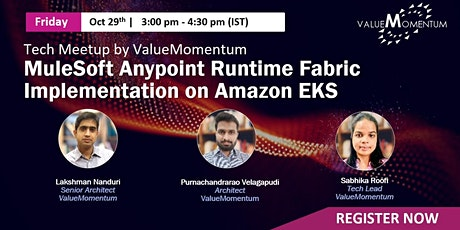 MuleSoft Anypoint Runtime Fabric Implementation on Amazon EKS tickets