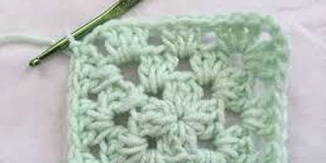 Learn to Crochet: Beginners - Granny Square tickets