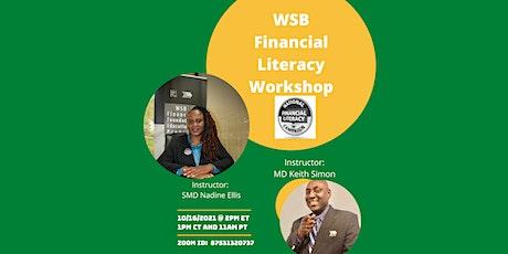 WSB Financial Literacy Workshop tickets