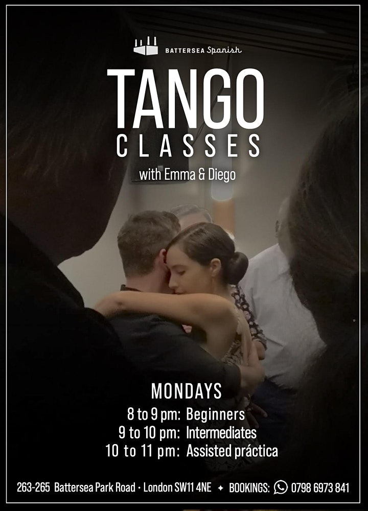 BACK TO TANGO - Workshops for intermediate/advanced + assisted practica image