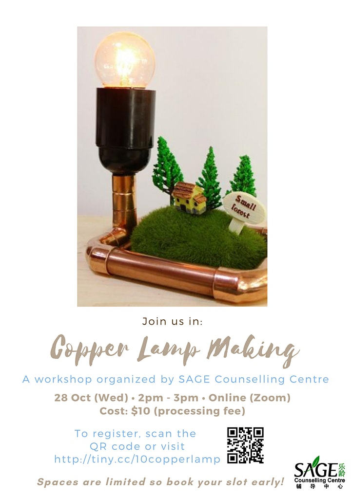 [SAGECC Workshop] Copper Lamp Making image