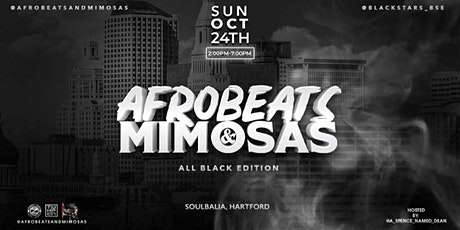 Afrobeats & Mimosas (ALL BLACK EDITION) tickets