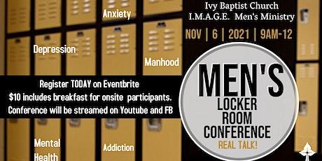 Men's Locker Room Conference REAL TALK tickets