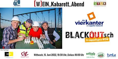 ÖJW [W]EIN_Kabarett_Abend - Die Vierkanter Tickets