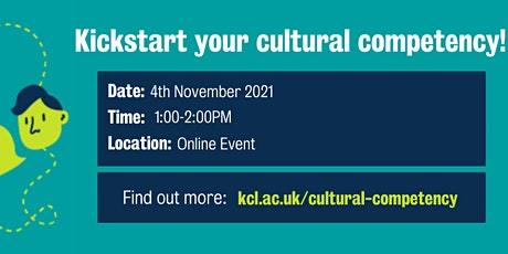 Kickstart your cultural competency tickets