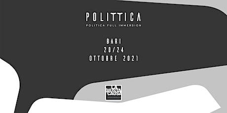 Polittica - Carofiglio / Le parole sono pietre - Un lessico per la politica biglietti