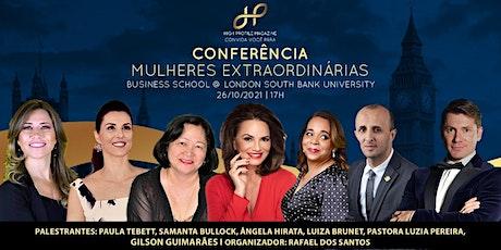 Conferência Mulheres Extraordinárias tickets