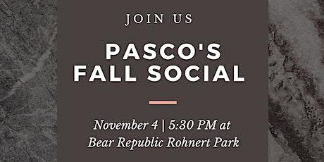 PASCO's Fall Social tickets