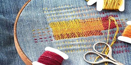 Visible Mending and Embroidery tickets