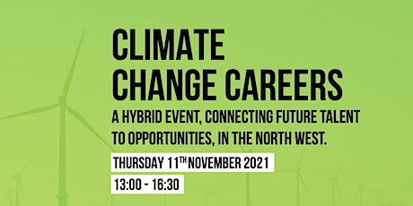 Climate Change Careers tickets