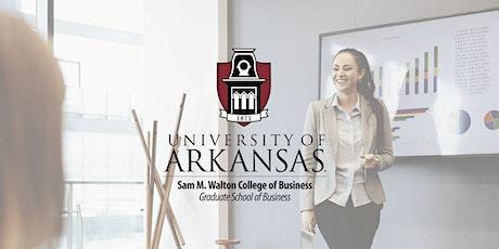 University of Arkansas - MABA & MIS Info Session tickets