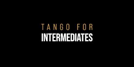 TANGO CLASSES & PRACTICA  •  Intermediate levels tickets