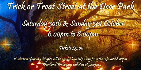 Halloween Trick or Treat Street at The Deer Park tickets