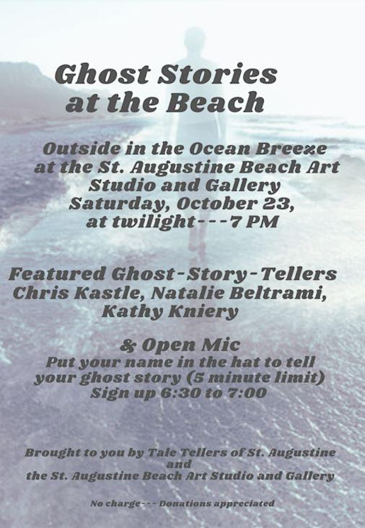 Ghost Stories at the Beach image