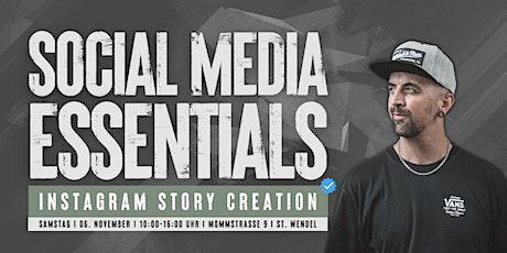 Social Media Essentials - Instagram Story Creation Tickets