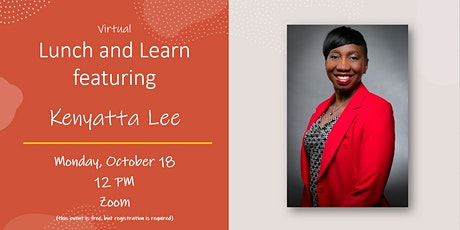 Virtual Lunch and Learn with Kenyatta Lee tickets
