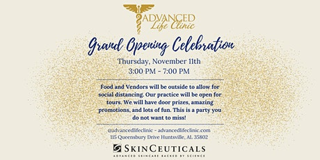 Advanced Life Clinic Grand Opening tickets