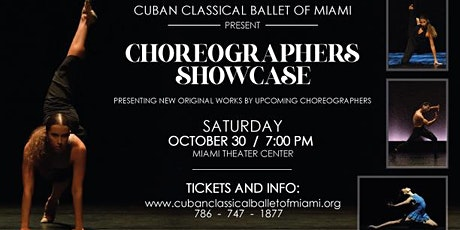 Cuban Classical Ballet of Miami Choreographers Showcase tickets