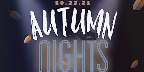 Autumn Nights tickets