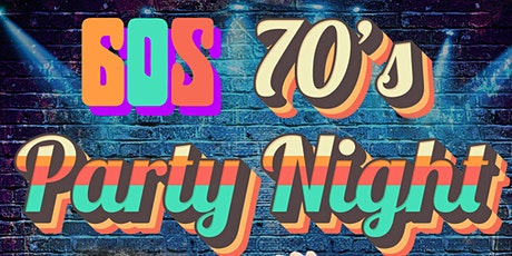 Festive Party Night 60 & 70s theme tickets