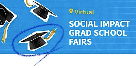 Virtual Social Impact Grad School Fair tickets