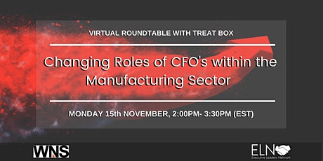 CFOs Changing Roles within the Manufacturing Sector tickets