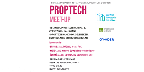 EurAsia Proptech Initiative Webinar Co-organized with ULI and GYODER tickets