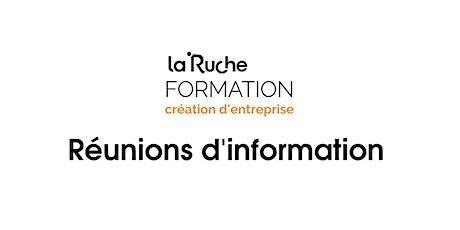 Réunion d'information Formation Création d'Entreprise billets