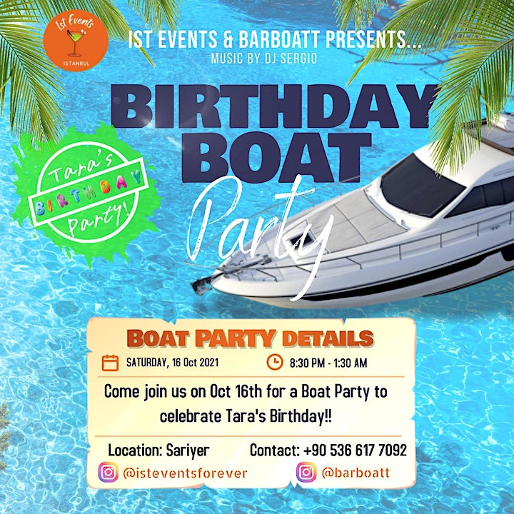 Birthday Boat Party image