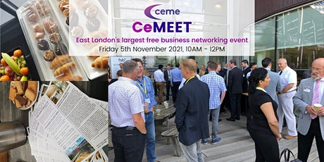 CeMEET (Nov 2021) - East London's Largest Free Business Networking Event tickets
