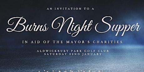 Mayor's Burns Night Supper tickets