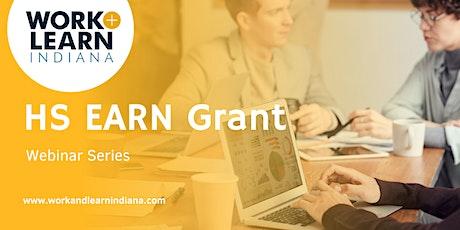 HS EARN Grant Application Webinar tickets