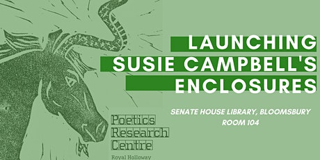 Book Launch: Susie Campbell's Enclosures tickets