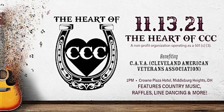 The Heart of CCC Annual Event - November 13, 2021 tickets