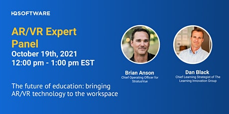 Expert Panel: Bringing AR/VR Technology to the Workspace Education tickets