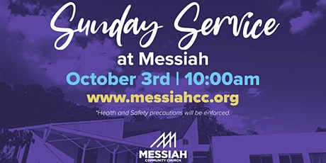 Sunday Service at Messiah (In-Person) tickets