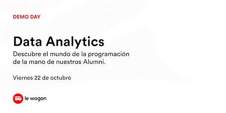 Demo Day - Data Analytics tickets