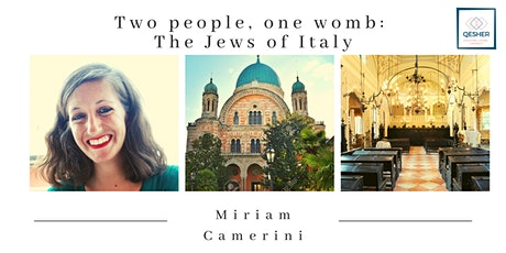 Two people, one womb: The Jews of Italy tickets