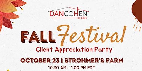 Fall Festival - Client Appreciation Party tickets
