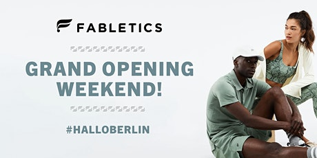 JOIN US AT FABLETICS BERLIN'S GRAND OPENING WEEKEND OCTOBER 15-16TH Tickets