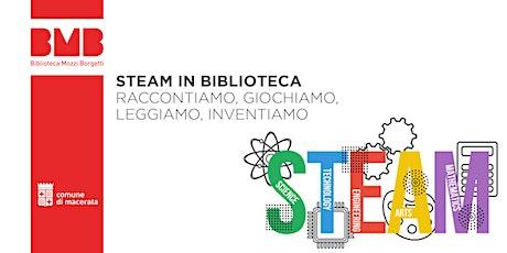 STEAM in Biblioteca - Ottobre biglietti