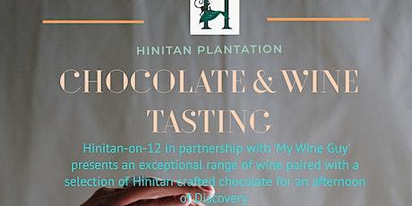 Chocolate  & Wine tasting tickets
