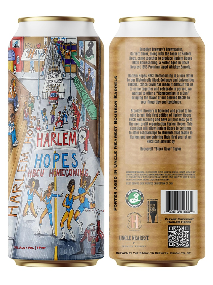 Brooklyn Brewery presents: Harlem Hopes HBCU Homecoming Beer Can Release image