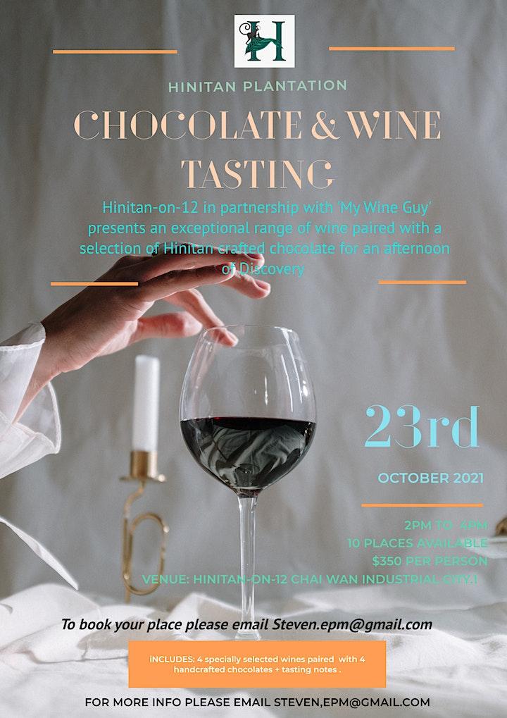 Chocolate  & Wine tasting image