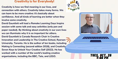 Creativity is for Everybody! tickets