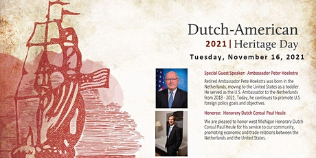 2021 West Michigan Dutch-American Heritage Day Dinner tickets