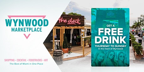 FREE Drink at Wynwood Marketplace tickets