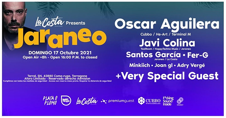 Imagen de La Costa & Jaraneo pres. OSCAR AGUILERA + Very Special Guest